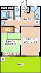ファミーユハイム[1階]の間取り