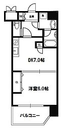 スプランディッド新大阪III[8階]の間取り