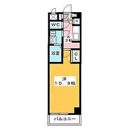 メリーファンタジー[1階]の間取り