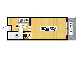 エリア39[4階]の間取り