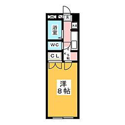 アラモード旭ヶ丘[1階]の間取り