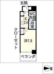 レジディア丸の内[9階]の間取り