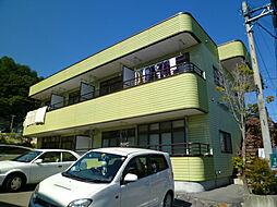 長野県岡谷市山手町2丁目の賃貸マンションの外観