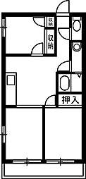 TMTハイツ[205号室]の間取り