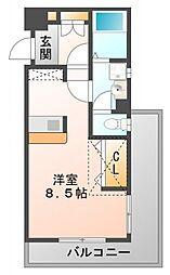 カルム香川V[3階]の間取り