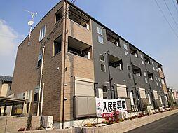 大阪府藤井寺市沢田2丁目の賃貸アパートの外観