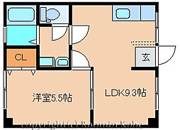 吉田マンション[101号室]の間取り