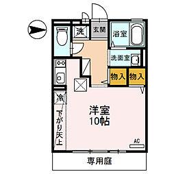 ジュネスSハイム[2階]の間取り