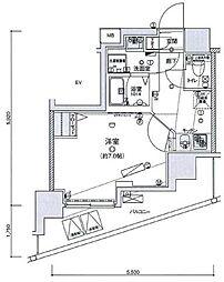 リヴシティ王子神谷[10階]の間取り