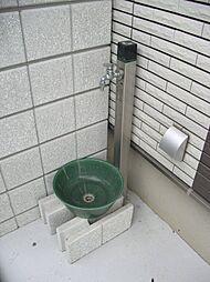 平屋 外洗い場