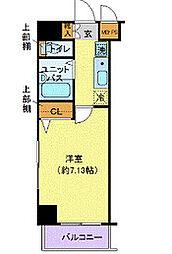 ヴェルト日本橋III(ヴェルトニホンバシサン)[9階]の間取り
