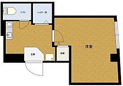 MTN五反野[2階Bタイプ号室]の間取り