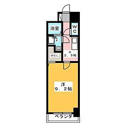 ヴィラ清寿[2階]の間取り
