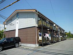 長野県飯田市松尾明の賃貸アパートの外観