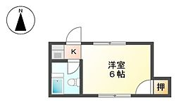 稲山ビル[4階]の間取り