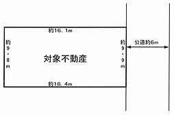 B宅地区画図