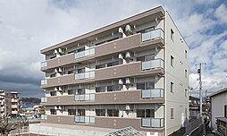 静岡県裾野市二ツ屋の賃貸マンションの外観