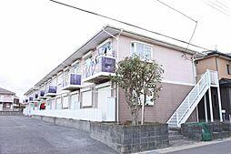 千葉県大網白里市仏島の賃貸アパートの外観