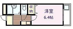 エクセレント岸和田弐番館[5階]の間取り