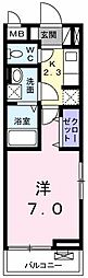 AJCスクエア C棟[0301号室]の間取り