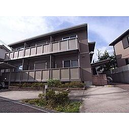 奈良県生駒市山崎町の賃貸アパートの外観