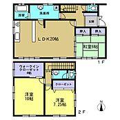 リフォーム済浴室は1.0坪に広げました。台所のキッチンは新品に交換しました。また、2階の洋室は独立した個室に間取変更終わりました。