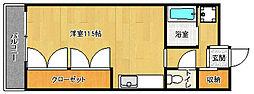京都府京都市中京区姉西洞院町の賃貸マンションの間取り
