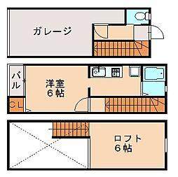 Gハウス[3階]の間取り