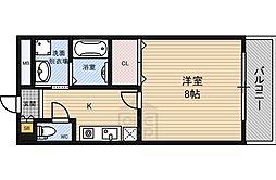 ヒルズRu0026A 諏訪10階Fの間取り画像