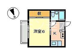 シーサイド西舞子B[1階]の間取り