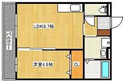 エストパレ[1階]の間取り