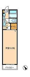 カーサグレーシア松戸[1階]の間取り