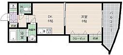 タワーTORIKAI[903号室]の間取り