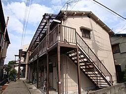 兵庫県宝塚市小林2丁目の賃貸アパートの外観