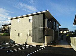 東京都武蔵村山市三ツ木2丁目の賃貸アパートの外観