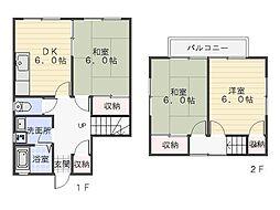 [一戸建] 神奈川県横須賀市池田町5丁目 の賃貸【/】の間取り
