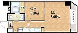 will Do谷町[3階]の間取り