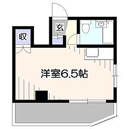 東京都西東京市下保谷4丁目の賃貸マンションの間取り
