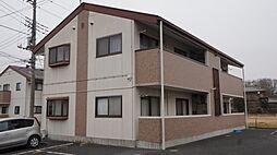 埼玉県熊谷市佐谷田の賃貸アパートの外観
