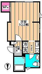 Casa Luminosa[2階]の間取り