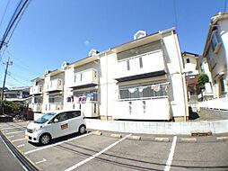 千葉県柏市松葉町6丁目の賃貸アパートの外観