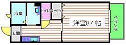 兵庫県神戸市垂水区学が丘4丁目の賃貸アパートの間取り