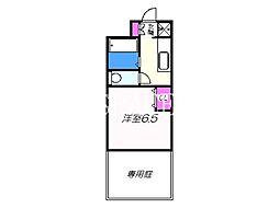白鷺駅 4.3万円