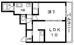 カサベアータ[1階]の間取り