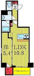 都営三田線 西巣鴨駅 徒歩5分の賃貸マンション 9階1LDKの間取り