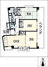 フォトレス栄[7階]の間取り