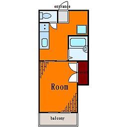 ダイヤローズマンション[2階]の間取り