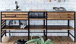 キッチンプラン例システムキッチン設置(同一タイプ)工事費70万円(価格に含みません)