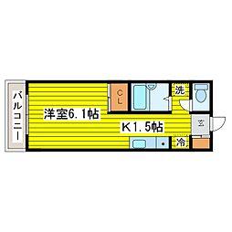 北海道札幌市東区北十二条東8丁目の賃貸アパートの間取り