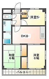 カスタムA[2階]の間取り